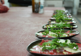 Carpaccio amuse
